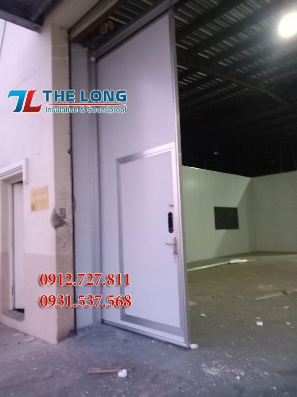 Cửa Lùa Panel Phòng Sạch