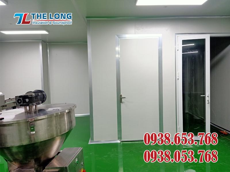 Tấm Panel Cách Nhiệt Phòng Sạch