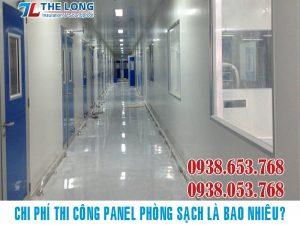 Chi Phí Thi Công Panel Phòng Sạch