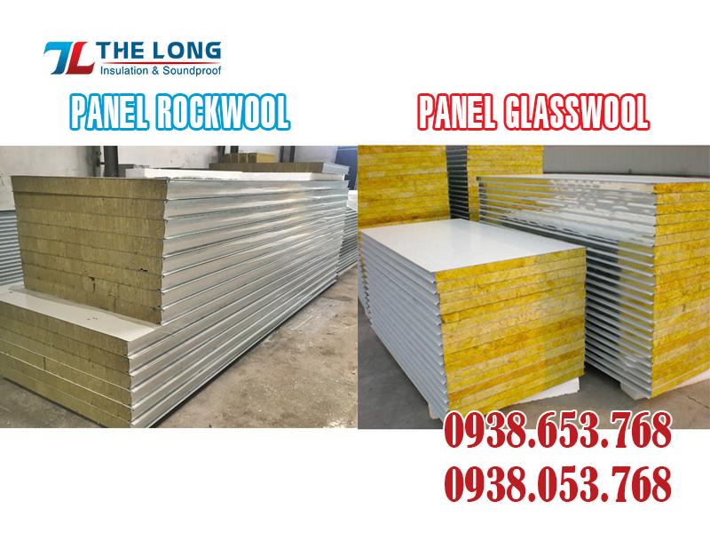 So Sánh Panel Rockwool Và Panel Glasswool
